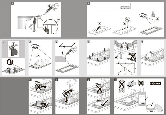 Как установить раковину в столешницу кухни